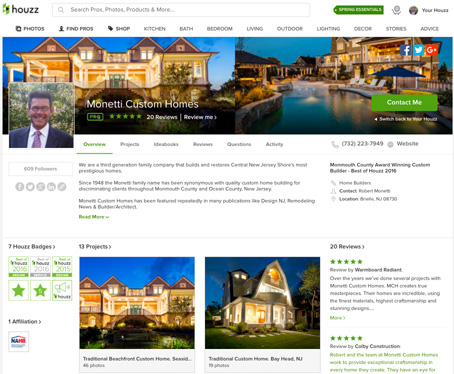 Monetti Custom Homes on Houzz