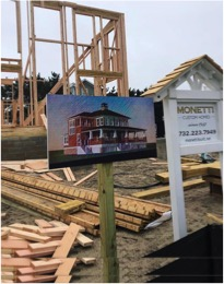 Monmouth County Custom Homes Signage